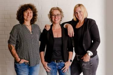 Diana Steen, Gunda Frey, Eva Schoofs